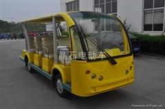 江蘇新款11座電動旅遊觀光車
