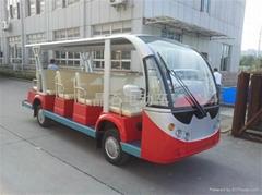 浙江新款14座电动看房车
