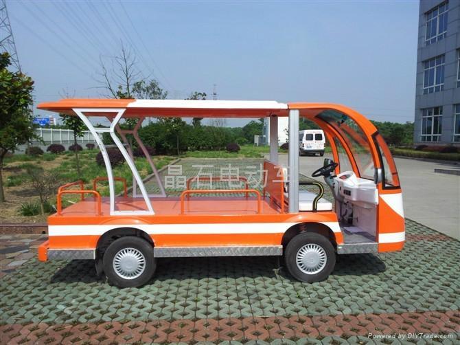 电动平板货运车 2