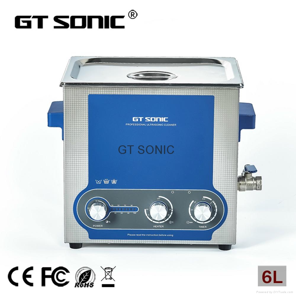 6L Ultrasonic Cleaner with Adjustable Power for Blind Spots 1