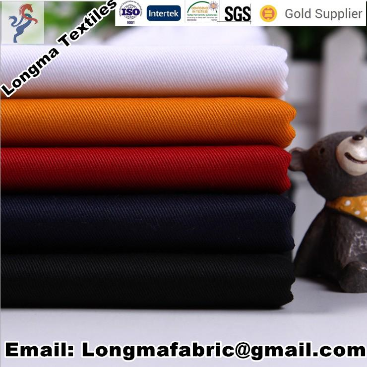 tc dyed bleached poplin fabric for pocketing Lining fabric 3