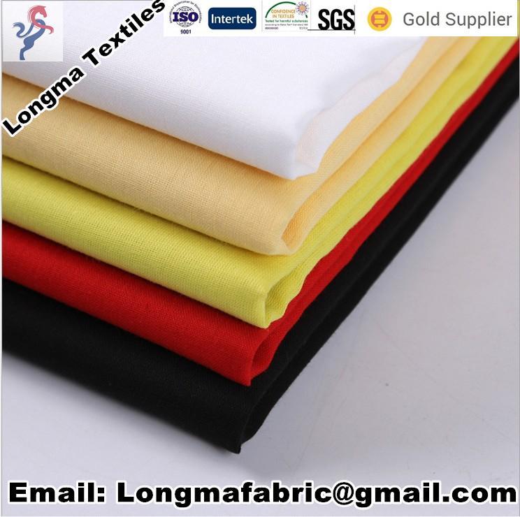 "100% polyester pocketing fabric T/T 45X45 110X76 47""/63""  4"