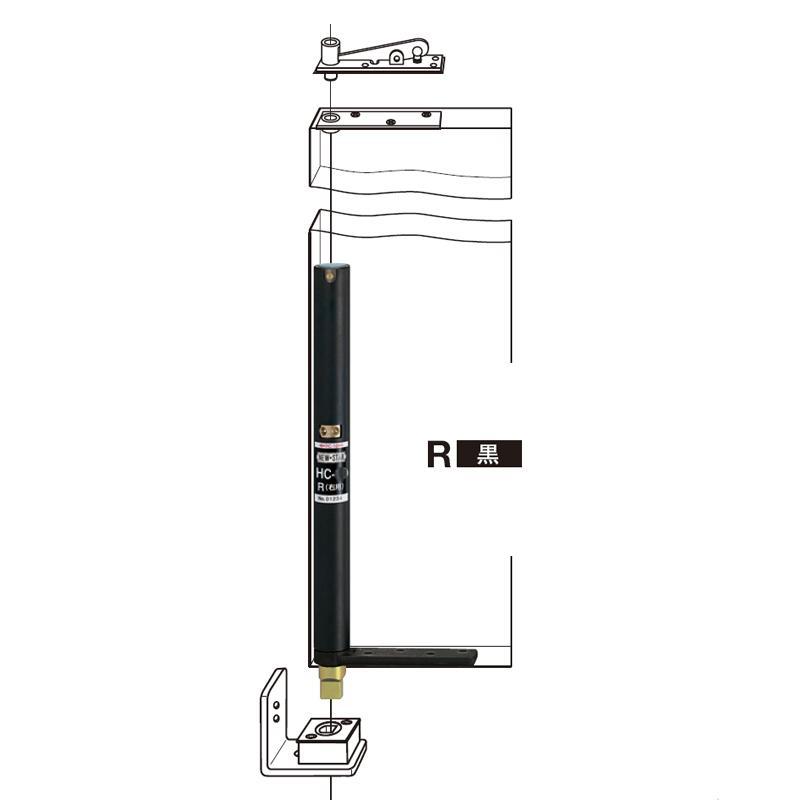 日本NEWSTAR新星 HC-26T自關液壓緩衝阻尼門軸 1