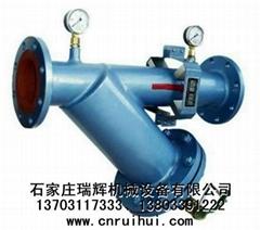 手搖刷式反沖洗排污過濾器(Y型除污器)Y型排污過濾器