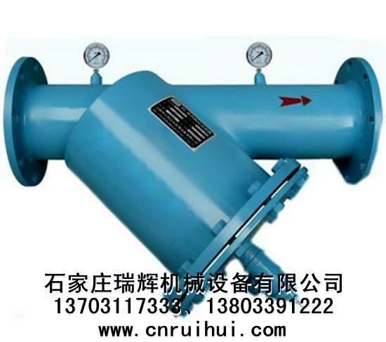 手搖刷式反沖洗排污過濾器(Y型除污器)Y型排污過濾器 2