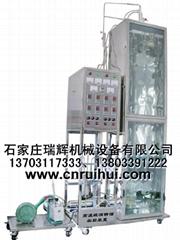 高温玻璃精馏装置