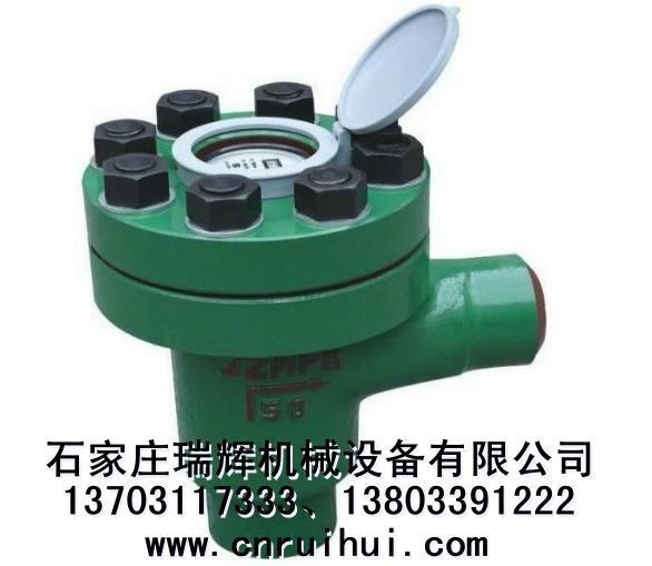 LCG直角式機械式高壓水表(礦用高壓水表)焊接連接 1