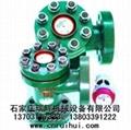 LCG直角式機械式高壓水表(礦用高壓水表)焊接連接 3