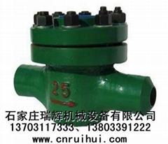 LCG水平式機械式高壓水表(礦用高壓水表)焊接連接