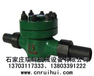 LCG水平式機械式高壓水表(礦用高壓水表)焊接連接 2