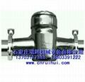 机械式卡箍水表 不锈钢卡箍式水