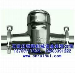 机械式卡箍水表 不锈钢卡箍式水表 快装式水表 13703117333