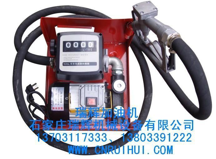 RHYTB-60机械式加油机 小型加油机 油泵总成 13703117333 1