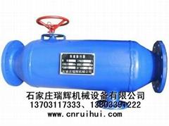 KC快速除污器(供熱站除污器)KC排污器、水平直通除污器