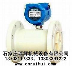 PP塑料耐酸碱水表 RHNY全塑料智能水表 海水流量计 13703117333