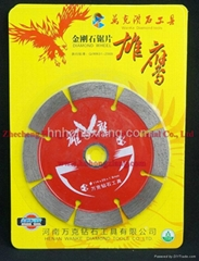 114diamond saw blade for masonry cutting (special for stone and ceramic)