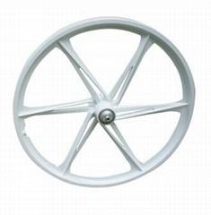 20' magnesium bicycle wheel