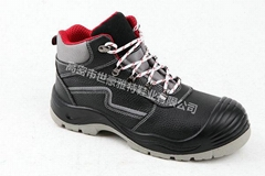 PU injection outsole Cheap men industrial work safety shoes