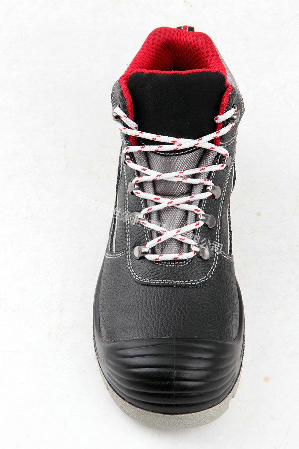 PU injection outsole Cheap men industrial work safety shoes 4