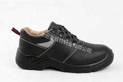 casual riding round toe ankle boots high top leather construction safety shoes r
