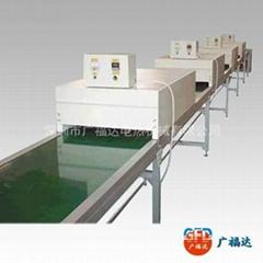 工业环保节能红外线输送烘干炉