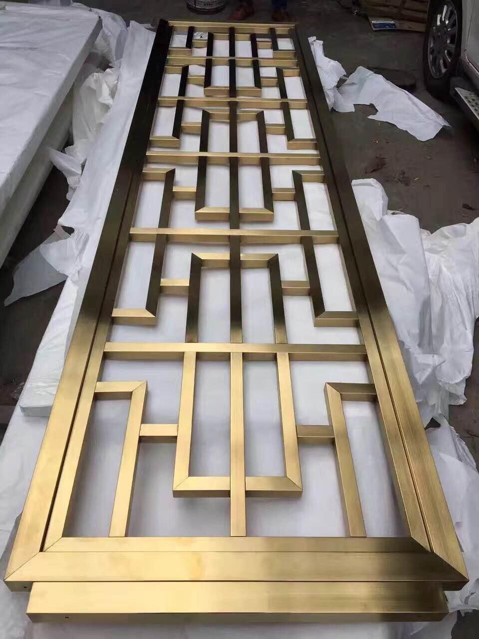 鈦金不鏽鋼屏風 2