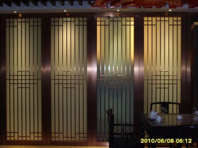 浙江酒店裝飾不鏽鋼屏風 5