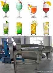 Popular Full Automatic Spiral Commercial Fruit Juicer   0086 18703616827