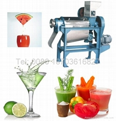 Spiral Fruit Juice Extractor|Spiral Fruit Juicer   0086 18703616827