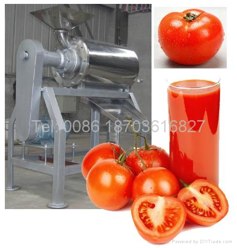 commercial Tomato sauce pulping machine 1