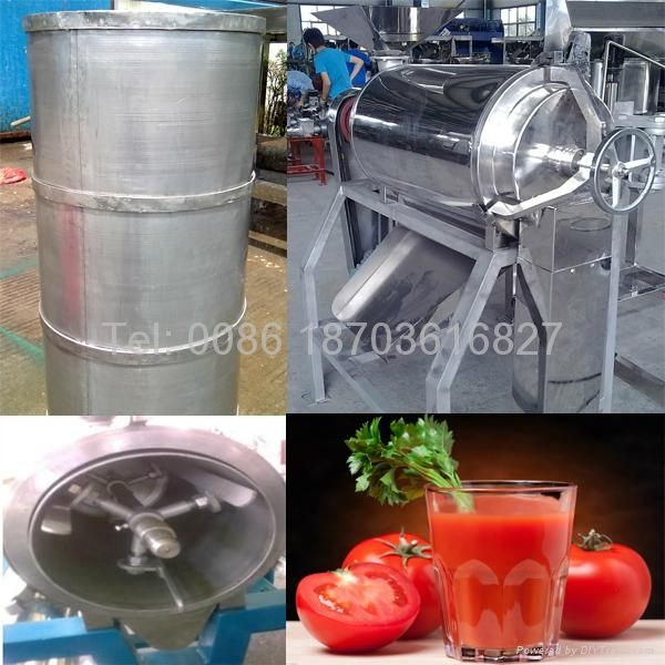 commercial Tomato sauce pulping machine 2
