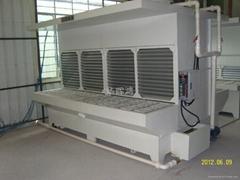 MFT4000打磨吸塵台(水帘雙面)