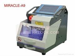locksmith tools key cutting machine MIRACLE-A9 key numerical control machine
