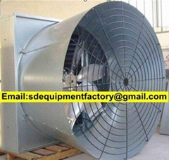 SD automatic cone fan ventilation system