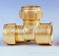 Brass pipe fitting male 4