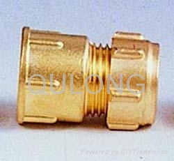 Pumping fitting bronzed forged pipe connector 3