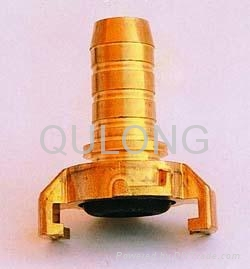 Brass quick fitting  Tee female for pipe   5