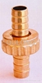 brass hose brab hose taill hose end female for pipe ftting 4