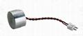 Ultrasonic sensor with lead wire