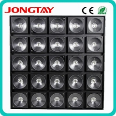 25pcs x 30W 3 in1 RGB Color LED Matrix Light for Stage Background