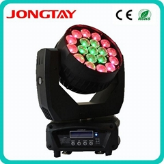 19pcs x 12W high brightness osram led zoom moving head