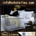100% cotton Hotel bed linen hotel linen