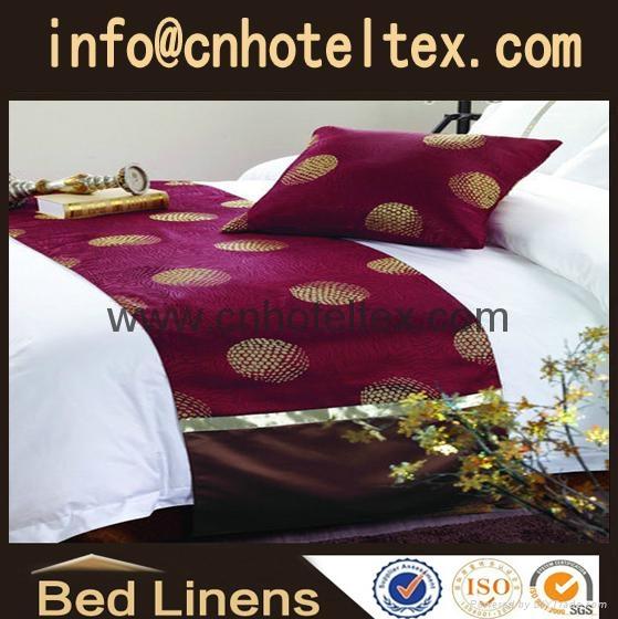 hotel bed runner bed skirt bedspread 1