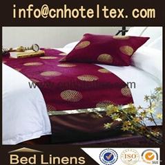 hotel bed runner bed skirt bedspread