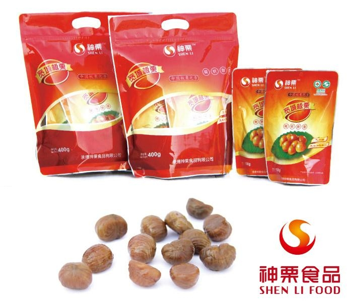 Snack Roasted Peeled Chestnuts 1