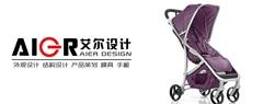 儿童推车儿童电动秋千收折结构设计外观设计