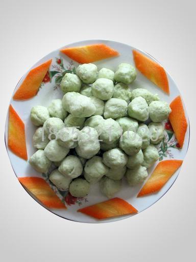 菠菜丸子 1