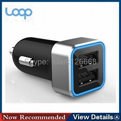 3.1A mobile phone car charger with CE certificate