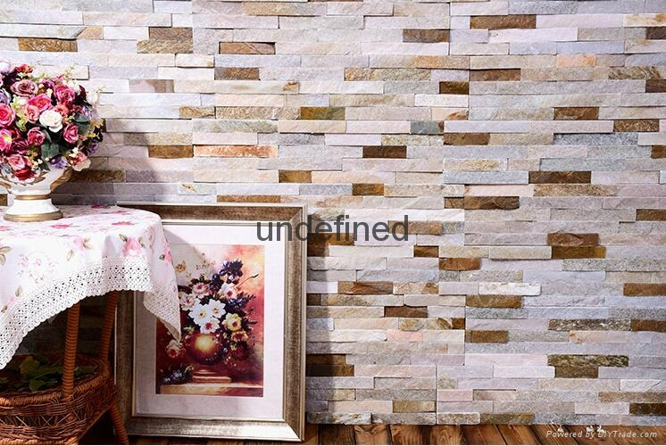 natural slate stone for wall decoration  1