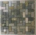 natural stone mosaic slate tile